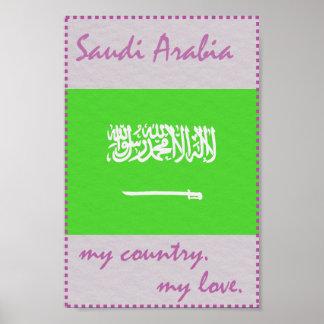 Saudi Arabia My Country My Love Poster