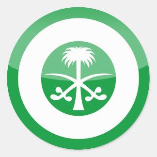 saudi_arabia round sticker