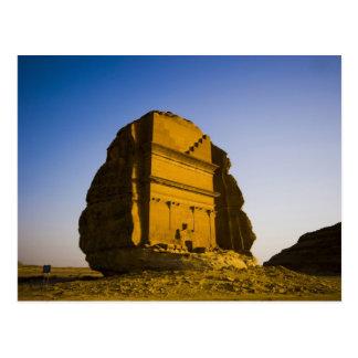 Saudi Arabia, site of Madain Saleh, ancient 4 Postcard