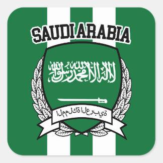 Saudi Arabia Square Sticker