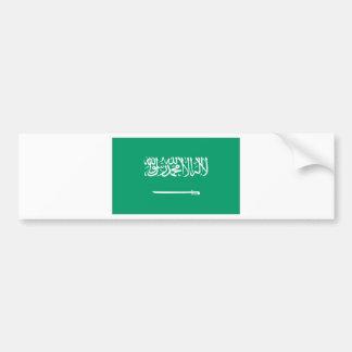 Saudi Arabian Flag Bumper Sticker