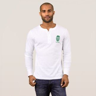 Saudi touch fingerprint flag T-Shirt