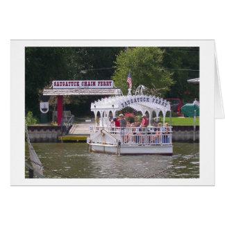 Saugatuck Ferry Card