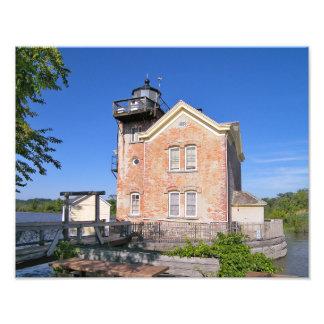 Saugerties Lighthouse, Hudson River New York Photograph
