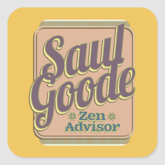 Saul Goode – Zen Advisor Square Sticker