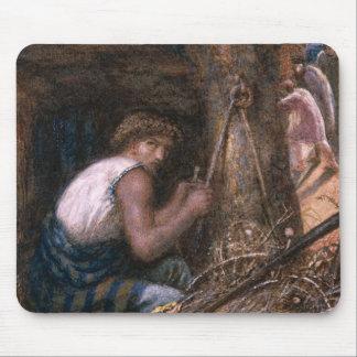 Saul Hiding among the Stuff, 1866 Mouse Pad