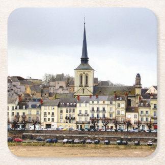 Saumur River Bank Scene Coaster