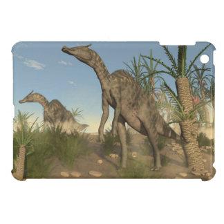 Saurolophus dinosaurs - 3D render iPad Mini Cover