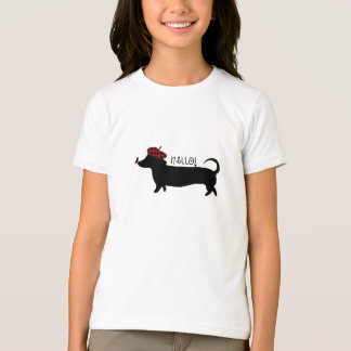 Sausage Dog Girl tshirt