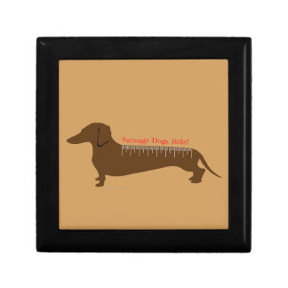 Sausage Dogs Rule Gift Box