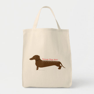 Sausage Dogs Rule Tote Bag