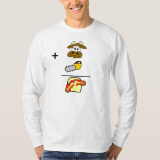 Sausage Equation Long Sleeve T-Shirt