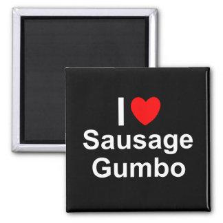Sausage Gumbo Magnet