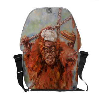 Sausage lord messenger bag