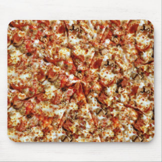 Sausage Pepperoni Pizza Mouse Pad