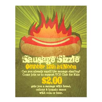 Sausage Sizzle Party 21.5 Cm X 28 Cm Flyer