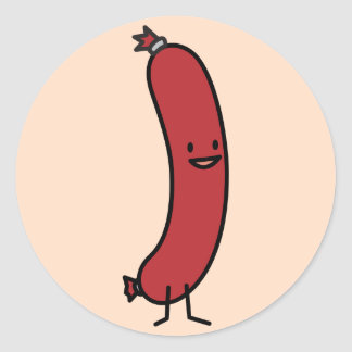 Sausage Sticker