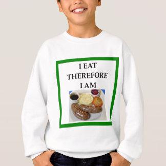 sausage sweatshirt