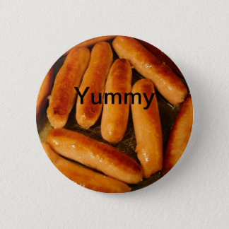 Sausages Button Badge