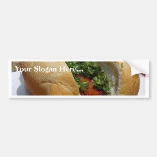 Sausages Rolls Chimichurri Sauces Bumper Stickers