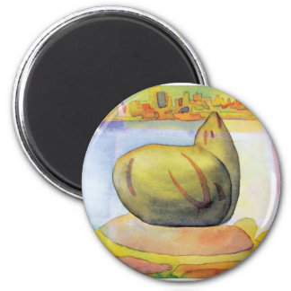 Sausalito sea lion magnet