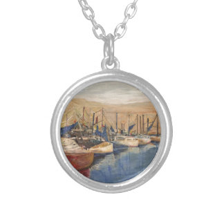 Sausalito Silver Plated Necklace
