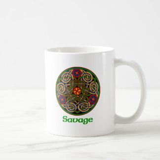 Savage Celtic Knot Coffee Mug