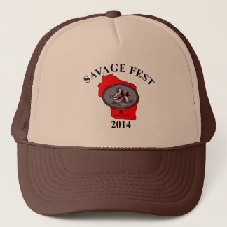 Savage fest truckers hat. trucker hat