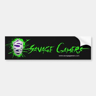 Savage Gamers bumper sticker