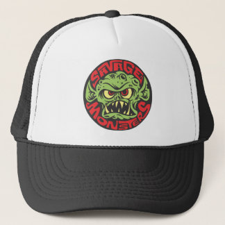 Savage Monsters Logo Trucker Hat