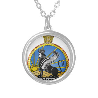 Savak Iran Secret Police Silver Plated Necklace