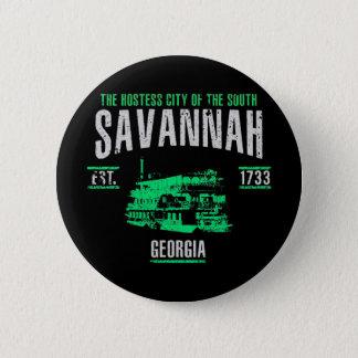 Savannah 6 Cm Round Badge