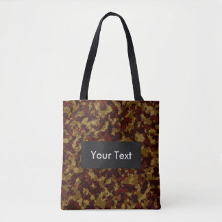 Savannah Camouflage Customizable Tote Bag