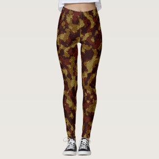 Savannah Camouflage Full Print Leggings