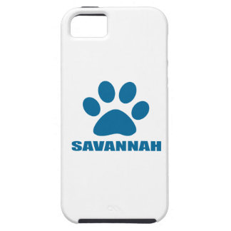SAVANNAH CAT DESIGNS TOUGH iPhone 5 CASE