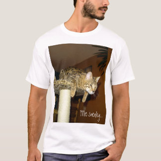 Savannah Cat Sneaky Shirt