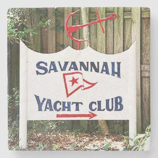 Savannah Coasters,  Savannah Yacht Club Stone Coaster