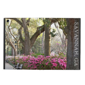 Savannah GA in Spring | Forsyth Park Azaleas Oaks Case For iPad Air
