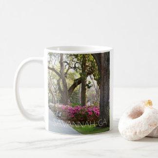 Savannah Georgia Azaleas in Spring Forsyth Park Coffee Mug