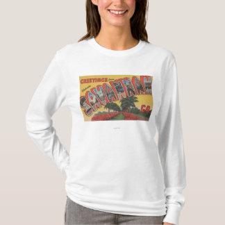 Savannah, Georgia (Historic) - Large Letter T-Shirt