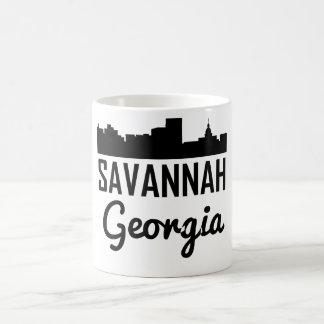 Savannah Georgia Skyline Coffee Mug