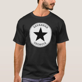 Savannah Georgia T Shirt