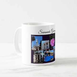 Savannah Georgia Travel Collection Coffee Mug