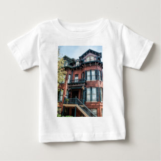 Savannah Georgia Victorian Historical House Baby T-Shirt