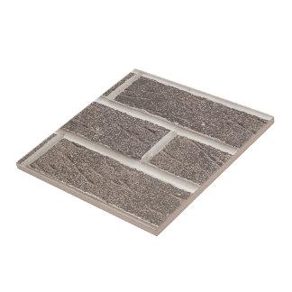 Savannah Gray Brick And White Mortar Ceramic Tile