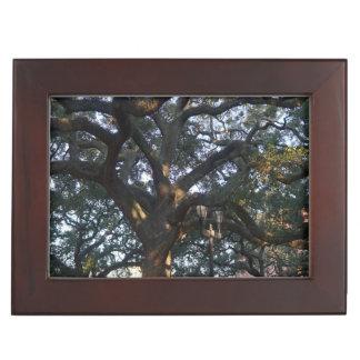 Savannah Oak Keepsake Box
