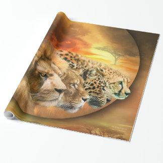 Savannah Spirits Art Giftwrap Wrapping Paper