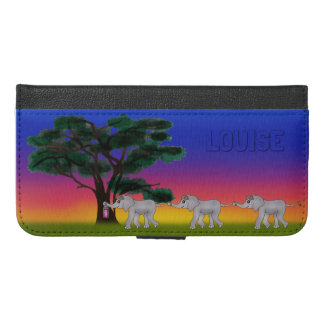 Savannah Sunset by The Happy Juul Company iPhone 6/6s Plus Wallet Case