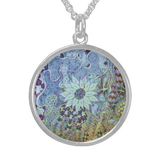 SavannahIs Flowers Sterling Silver Necklaces