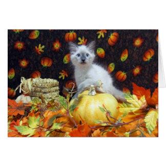 Savannah's Fall / Thanksgiving Card
